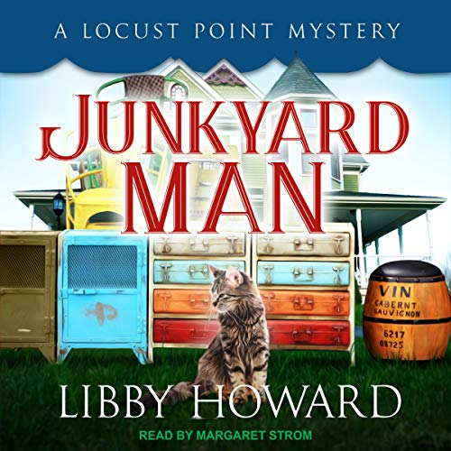 Junkyard Man audiobook cover art