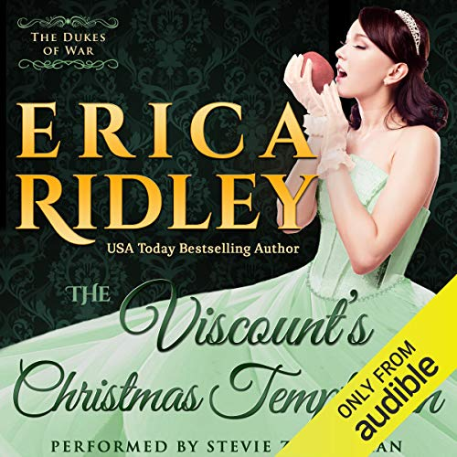 The Viscount's Christmas Temptation cover art