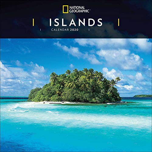 Islands National Geographic Square Wall Calendar 2020