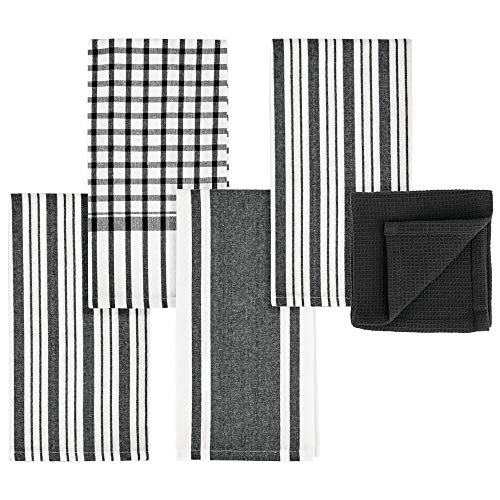 Top 10 Best Selling List for black white kitchen towels