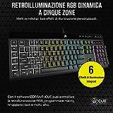 Zoom IMG-2 corsair k55 rgb pro tastiera