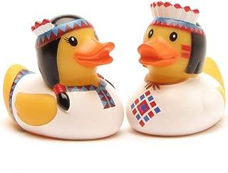 Duckshop I Rubber Duck I Bath-Duck I Indian Pair White