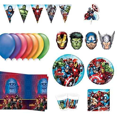 Pack Completo Para Cumpleaños Los Vengadores