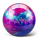 Pyramid Path Bowling Ball (Pink/Blue/Teal, 12 LB)