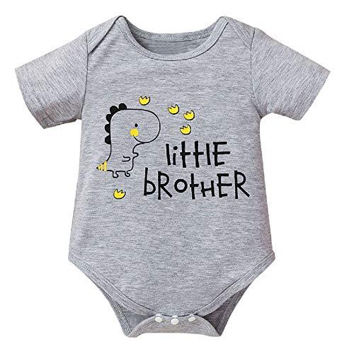 BigBig Style Mameluco para recién nacido, diseño de dinosaurio, para recién nacido, suave