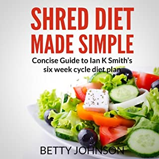 Shred Diet Made Simple audiobook cover art
