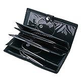 Agujas de Tejer Circulares Kit de Agujas Flexibles Agujas de Acero Inoxidable Circulares (1.5mm-5mm)(80cm)
