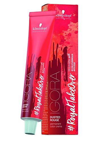 SCHWARZKOPF Igora Royal Take Over haarkleur, 8-849 lichtblond rood beige violet, verpakking van 3 (3 x 60 ml)