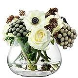 LSA FW16 Flower Table Arrangement Vase H11.5 cm Clear Image