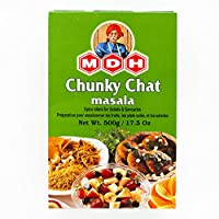 MDH チャットマサラ 500g 24箱 【1ケース】 Chunky Chat masala 業務用 スパイス 香辛料 調味料 ミックススパイス