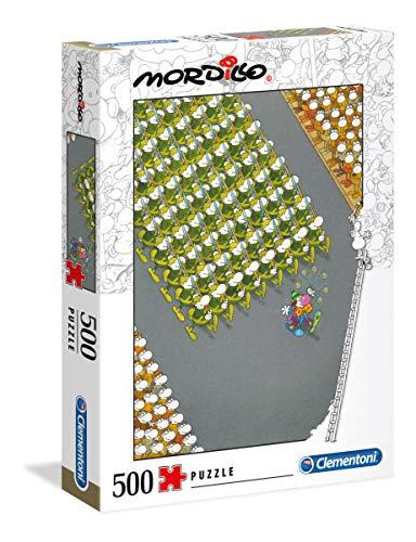 Clementoni 35078 High Quality puzzel 500 delen De Marsch