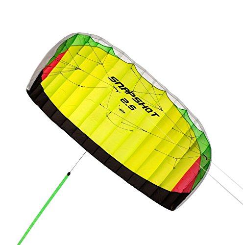 Prism Snapshot Speed Folie Kite, SS5Y, 2.5, Yellow, 2.5