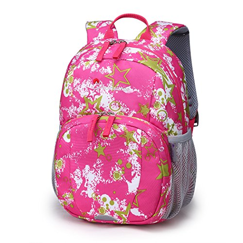 Mountaintop Toddler Kids Backpack for Kindergarten with Chest strap