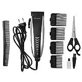 Electric Hair Clipper - Surker Electric Hair Trimmer Men Kids Adjustable Hair Cutting Machine Home Clipper Set