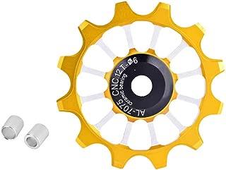 Bike Derailleur Pulley 12T Ceramic Aluminum Jockey Wheel Rear Fit 4/5/6mm Screws Support 7/8/9/10 Speed