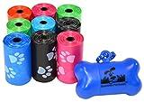 180 Pet Waste Bags, Dog Waste Bags, Bulk Poop Bags with...