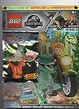 Blue Ocean Lego Jurassic World Magazin - Cuaderno especial con dinosaurios y nido