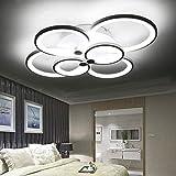 ONLT LED Moderne Plafonnier,LED panneau lumineux moderne lampe Plafonnier Lustre...