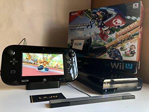 Nintendo wii u 32gb mario kart 8 deluxe bundle + nintendo land