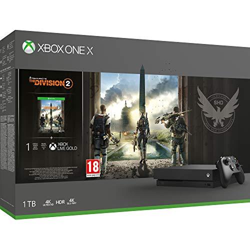 Microsoft Xbox One X - Consola 1 TB + División 2