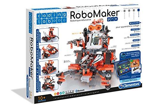 Robot avec moteurs électriques et capteurs infrarouges