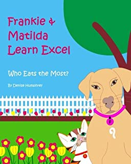 Frankie & Matilda Learn Excel: Who Eats the Most?