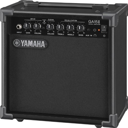 Yamaha GA15II - Amplificador de Guitarra con Transistor, Negro