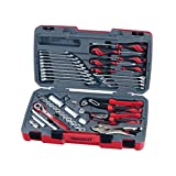 Teng Tools 48 Piece 3/8 Inch Drive 6 Point Metric & SAE Regular/Shallow Socket & Tool Set - T3848