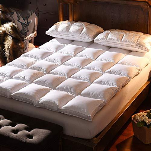 ZXYY matras met diepe zakken tapijt Tatami mat Tatami opvouwbaar matras anti-allergisch alternatief hotel-wit 150 x 200 cm (59 x 79 inch)
