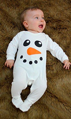 Lindo muñeco de nieve Baby para niño/de Navidad ropa de