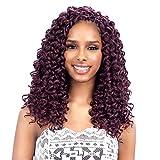 FreeTress Synthetic Hair Crochet Braids GoGo Curl 12' (6-Pack, 1B)