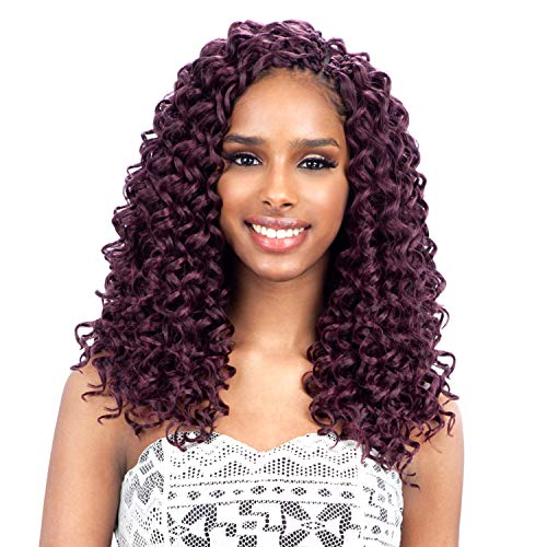 FreeTress Synthetic Hair Crochet Braids GoGo Curl 12' (6-Pack, 1)