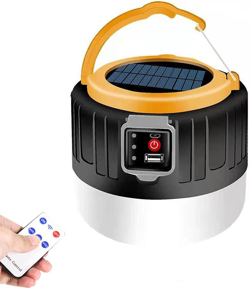 Camping San Diego Mall Lantern Solar Rechargeable with Light Bargain sale 3 Remote