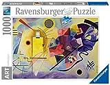 Ravensburger Puzzle 1000 Piezas, Kandinsky, Wassily:Yellow, Red, Blue, Arte, para adultos, Rompecabezas de calidad