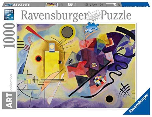 Ravensburger 14848 1000 pièces Art Collection Jaune-Rouge-bleu Vassily Kandinsky Puzzle für Erwachsene