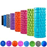 "SYOURSELF Foam Roller for Muscle Massage-13"" x 5.5"", EVA, Trigger Point-Deep Tissue, Myofascial"