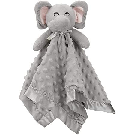 20 inch plush bunny baby blanket