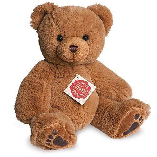 Teddy Hermann 91181 Teddy-Bär braun 25 cm, Kuscheltier, Plüschtier