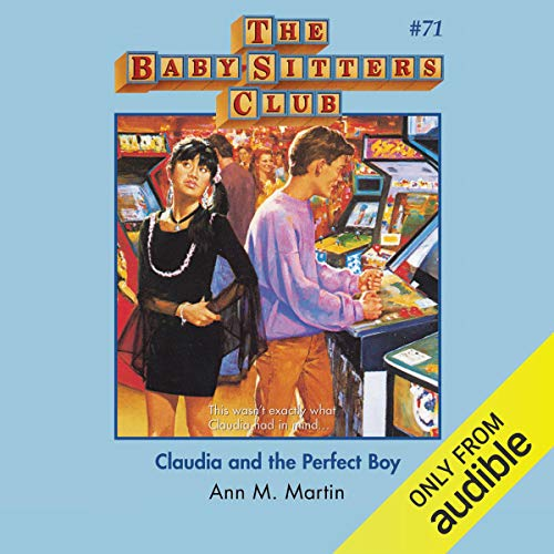 Claudia and the Perfect Boy audiobook cover art