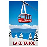 artboxONE Poster 120x80 cm Natur Lake Tahoe California -