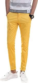 Men's Skinny Khaki Pants Slim Fit Chino Pants