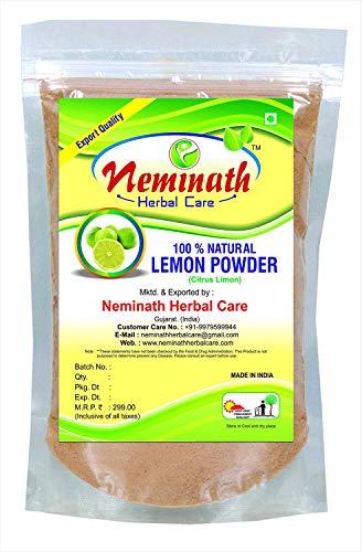 Lemon Peel (CITRUS LIMON) Powder 227 gm (8 OZ)