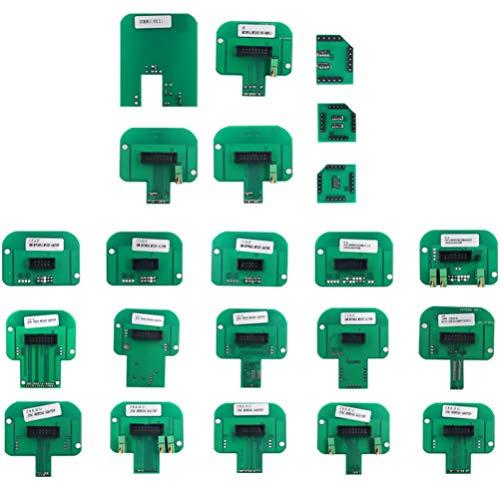 BESPORTBLE 22pcs BDM Adapter Green Programmer Adapter Parts Accessories