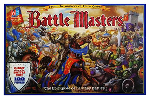 Battle Masters The Epic Game of Fantasy Battles by Milton Bradley