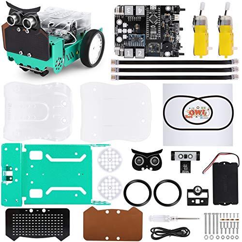 ELEGOO Búho Kit de Coche Robótico Inteligente Compatible con Arduino