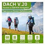 Dach V.19 - Outdoor Topo Karte passend für Garmin GPSMap 64, GPSMap 64s, GPSMap 64st, GPSMap 66s, GPSMap 66st