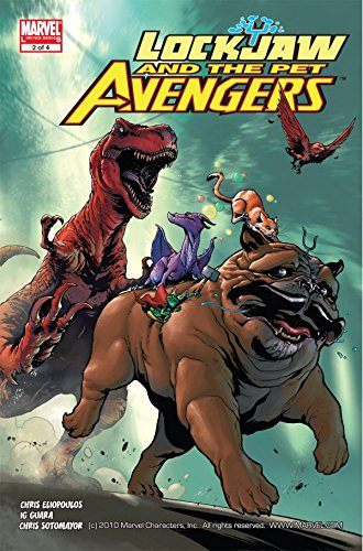 Lockjaw Pet Avengers U PICK comic 1 2 3 4 Henrichon var 2009 1st Throg Marvel