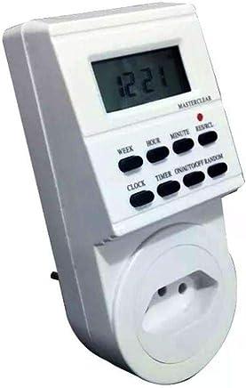 Timer Temporizador Digital 110v Programável Liga Desliga