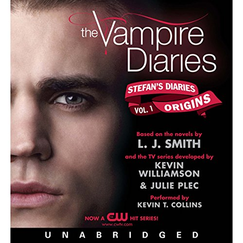 Couverture de The Vampire Diaries: Stefan's Diaries #1: Origins