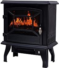 YLJYJ Estufa eléctrica de Interior Que calienta la Chimenea con Efecto de Llama de Fuego inmediatamente Caliente Calentador de Chimenea portátil de Invierno